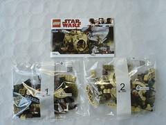 75208 - Contents (fdsm0376) Tags: lego review set starwars yoda hut 75208 luke skywalker r2d2 dagobah