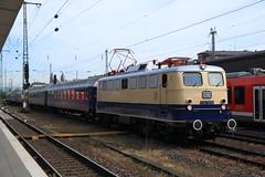 E10 1239 te Koblenz HBF (vos.nathan) Tags: centralbahn e10 1239 110 br baureihe koblenz hbf hauptbahnhof