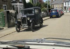 1931 Austin 7 (occama) Tags: ou9430 austin 7 cornwall old vintage uk british black seven saloon 1931 small prewar