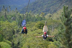 Who needs a parachute to #brake a #zipline, if you can have a proper brake? #zipstop #zipwire http://j.mp/1kIyYpa (Skywalker Adventure Builders) Tags: high ropes course zipline zipwire construction design klimpark klimbos hochseilgarten waldseilpark skywalker