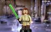 Custom LEGO Star Wars: The Phantom Menace | Qui-Gon Jinn (LegoMatic9) Tags: custom lego star wars episode i the phantom menace quigon jinn minifigure toy