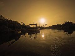 Camboriú river, sunset (alestaleiro) Tags: sunset camboriú river boat alestaleiro