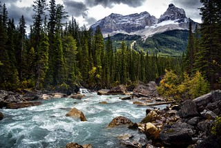 Contrasts and Drama (Yoho National Park)