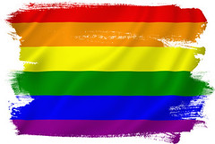 Gay pride (cfdtfep) Tags: gay pride gaypride rainbow flag lgbt sexual rights lesbian homosexual concept silk sign symbol marriage gayrights rainbowflag rippled bisexual freedom love illustration threedimensional lifestyle waving orientation texture colors design transgender movement background textured textile backdrop fabric cloth celebrate fullframe bulgaria