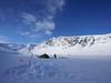 Trollvannet #5 (twoeye) Tags: isfiske trollvannet bror ice snow lake fishing tent pulka camp boy batis zeiss