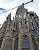 Segrada Familia (emmett.hume) Tags: segradafamilia espana spain barcelona cathedral construction crane antonigaudí gaudi church steeple worldheritage architecture basilica gothic artnouveau 1025fav