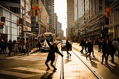 Hey! (A Great Capture) Tags: lady crowd cross walk fun cityscape urbanscape eos digital dslr lens canon rebel t5i light sun sunny sunshine sunlight shadow shadows efs1018mm 10mm wideangle city downtown lights urban agreatcapture agc wwwagreatcapturecom adjm ash2276 ashleylduffus ald mobilejay jamesmitchell toronto on ontario canada canadian photographer northamerica torontoexplore spring springtime printemps streetphotography streetscape photography streetphoto street calle 2018 depthoffield dof silhouette silueta