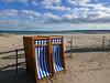 signs of summer (auroradawn61) Tags: sandbanks poole dorset march 2018 uk england seaside lumixlx100 britishseaside deckchairs