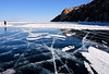 Ice crack 冰裂紋 (MelindaChan ^..^) Tags: siberia russia 俄羅斯 西伯利亞 lake baikal 貝加爾湖 chanmelmel mel melinda melindachan ice crack 冰裂紋 冰裂 紋 冰 裂紋 nature pattern frozen 2018 snow people winter cold life travel pine tree slope alkhon island 奧爾洪島 萨满岩石 shamanka rock 薩滿岩