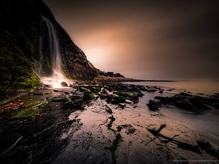 Kimmeridge Waterfall