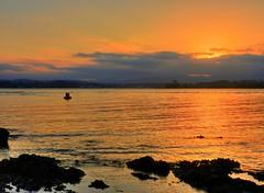 Estuary sunset III (elphweb) Tags: sun sunset hdr highdynamicrange nsw australia seaside