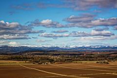 Angus in the winter sunshine (alan.irons) Tags: landscape angus leefilters polarising bluesky clouds cairngorms snow farmland farming fields eos1dxmk2 ef2470f28llusm fullframe scotland