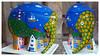 The Elephants are coming! (PAUL YORKE-DUNNE) Tags: art colours elephants charity rwy plymouth