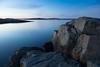 Rocky coast (Per-Karlsson) Tags: sea seascape water waterscape rocks granite tranquility longexposure dusk evening bluehour marstrand sweden swedishwestcoast bohuslän bohuslan