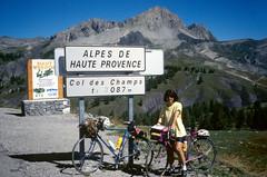 Col des Champs (maxguitare1) Tags: cyclotourisme cycling ciclismo velo bici bike bicicleta bicyclette randonneur mochilero backpacker montagne mountain montagna montaña alpes alpesdehauteprovence france