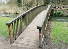 20180322-19_Coombe Abbey Country Park - Bridge over The Smite Brook (gary.hadden) Tags: coombeabbey coombepark coventry warwickshire countrypark rambling countrywalking bridge railings smitebrook stream river crossing