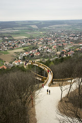 the fish (LG_92) Tags: hungary pannonhalma fish lookout panorama christianity 2018 april nikon dslr d3100 trees village outdoor countryside landscape grass forest