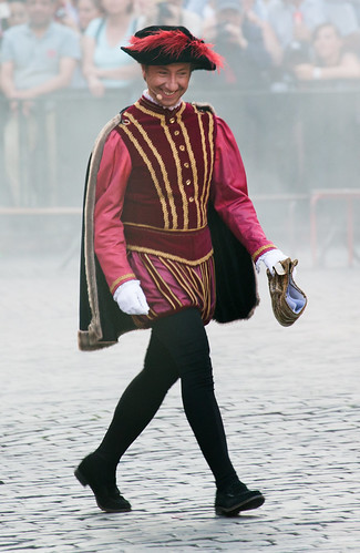 Ommegang Personnages 2017-07-05 - Stéphane Bern