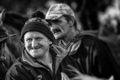 The big smile (Frank Fullard) Tags: frankfullard fullard candid street portrait maam maum maamcross maumcross horsefair connemara smile happy galway irish ireland monochrome blackandwhite blanc noir cap