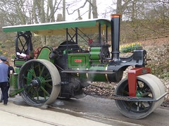 """Aveling & Porter Road Roller 5156 """"Lydia"""" (Terry Pinnegar Photography) Tags: beamish museum countydurham steam traction engine roadroller vintage avelingporter 5156 tu874 lydia"""