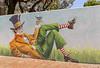 Brigitte Dawson and Melissa Turner Frankston 2018-04-08 (5D_32A0199) (ajhaysom) Tags: aliceinwonderland brigittedawson melissaturner frankston streetart graffiti melbourne australia canoneos5dmkiii canon1635l