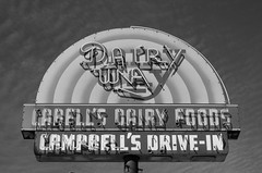 Dairy Way (dangr.dave) Tags: dairyway cabellsdairyfoods campbellsdrivein neon neonsign mineola tx texas woodcounty downtown historic architecture