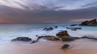 Soft and Smooth Dawn Seascape