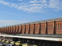 Bournemouth station (alexliivet) Tags: bournemouth station brick redbrick railwaystation architecture uk