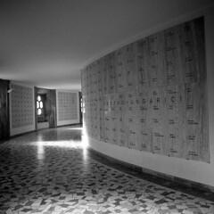 WW1 Memorial  - Rovereto - January 2017 (cava961) Tags: ww1 memorial rovereto analogue analogico monochrome monocromo bianconero bw 6x6