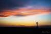 Ocàs al Fangar (rfabregatmoliner) Tags: ocàs sunset dusk sky colours colorful colors cel cielo far faro lighthouse silhouette silueta contraluz beach coast playa costa landscape clouds cloudy nikon nikond750 d750 nikkor longexposure