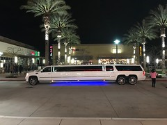 38 foot Cadillac Limousine, the longest limo I ever seen (Bob the Real Deal) Tags: car huge biggest longest cool fresno limo big limousine long