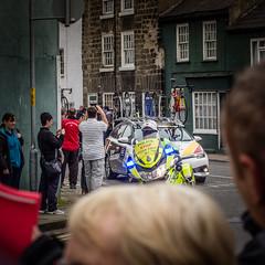 Police (barronr) Tags: england knaresborough rkabworks tourdeyorkshire yorkshire bathgatephotographer cycling motorbike police race