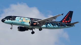 TLV - Brussels Airlines A320 OO-SND