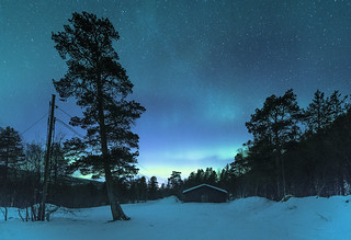 Waiting for the Northern Lights