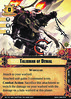 Apoka The Laughing God Talisman of Denial (Conquest Cards DB) Tags: wargear attachment chaos vael loyal signature