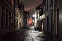 Bruges, Belgium (Plan R) Tags: street night evening rain cobblestone bruges leica m 240 noctilux 50mm