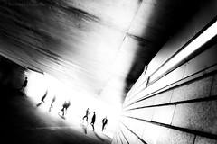 ... (Andreas Douvitsas) Tags: sternschanze hamburg metro subway train peoplephotography people streetphotography streetpic blackandwhite bnw motion