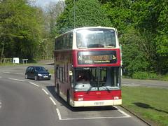 TM Travel 650 Eckington (Guy Arab UF) Tags: tm travel 650 x584egk volvo b7tl plaxton president bus eckington derbyshire wellglade buses wellgladegroup east yorkshire london central pvl184