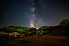 Milky Way in Greece (free3yourmind) Tags: milky way greece night sky stars starry kounina peloponnese achaea road mountains