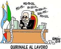Do not vote, that of Mattarella will be a buffer government (satira-italia) Tags: satira