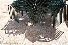 Chairs & Shadows (lorinleecary) Tags: california chairs sanfrancisco shadows green tile