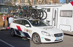 Storey Support Car (mark_fr) Tags: east west north tour de yorkshire 2018 stage 1 gary verity mark cavendish beverley south dalton etton howden ladies mens peliton police bike bycicle cycle womens race experzafootlogix team storey peloton tete la course harry tanfield doltcini – van eyck sport wiggle high5 pro cycling ale cipollini fdj nouvelle aquitaine futuroscope boompods edco nrg
