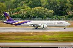 [SIN.2015] #Thai.Airways #TG #Boeing #B773 #HS-TKQ #Khemarat #เขมราฐ #awp (CHR / AeroWorldpictures Team) Tags: thai airways international boeing 7773al er msn 41526 1129 eng ge ge90115b reg hstkq named khemaratเขมราฐ history aircraft first flight built site everett kpae delivered thaiairwaysinternational tg tha leased boc config cabin c42y306 plane aircrafts airplane b777 777 b773 b773er reverse planespotting sin singapore changi wsss asia asian airlines 2015 nikon d300s nikkor lenses 70300vr raw lightroom awp chr