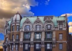 New York City -  Manhattan - New York - The Sutherland   -  611 West 158th St - Riverside Drive - Beaux Arts Apartment