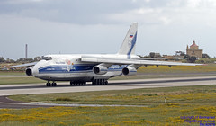 RA-82079 LMML 27-03-2018 (Burmarrad (Mark) Camenzuli Thank you for the 12.1) Tags: airline volga dnepr airlines aircraft antonov an124100 ruslan registration ra82079 cn 9773052062157 lmml 27032018