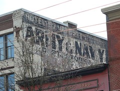 Vancouver Ghost Sign (jmaxtours) Tags: vancouverghostsign vancouver vancouverbc vancouverbritishcolumbia armynavystores