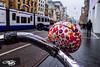 Tram & Bell (126/365) (Walimai.photo) Tags: timbre bici bicicleta bike amsterdam street calle tram tranvía color colour lx5 lumix panasonic netherlands holanda