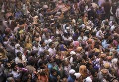 Banke Bihari Temple (Eric Cooper 1) Tags: bankebihari india temple hindu holi vrindavan