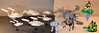 AllTheLegos (Paulygons) Tags: lego star trek spaceship wars aliens magic castle spider forest apc dropship cheyenne atat walker voyager enterprise nx01 floating insect moc custom imperial machine warp toy