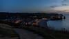 Vue sur Etretat à la tombée de la nuit (flowent) Tags: étretat normandie france fr